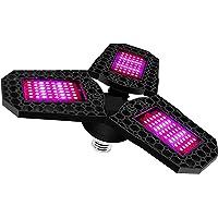 BRIDGEGUS Foldable LED 60w Grow Light Bulb Full Spectrum Plant Light Bulb For E27 Socket Flower Hydroponics Garden…
