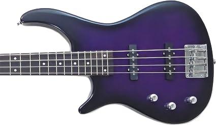 Benson BLUEBURST OCEAN juego de guitarra eléctrica para zurdos GRS y el paquete amplificador