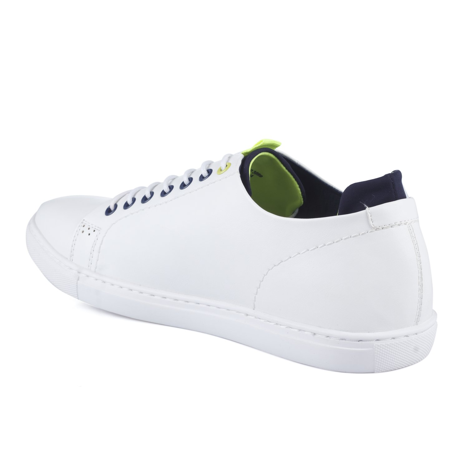 Buy Mufti White Sneakers at Amazon.in