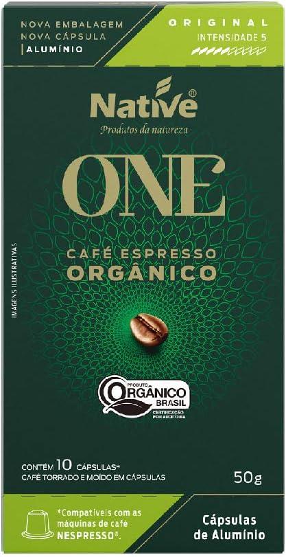 Café Orgânico em Cápsulas Original Native
