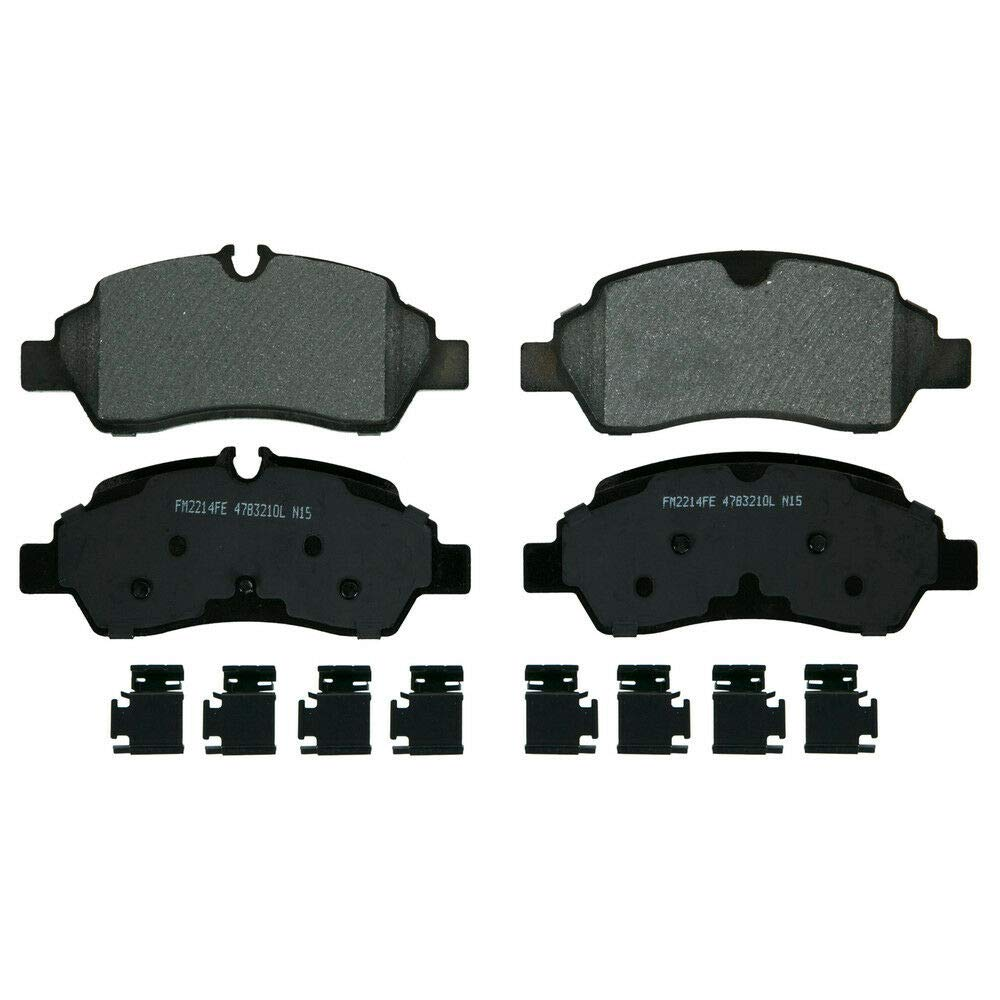 Wagner SX1775 SevereDuty Semi-Metallic Disc Brake Pad Set
