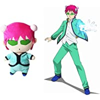 Saiki Kusuo Plush Toy, Anime The Disastrous Life of Saiki K. Cosplay Cute Kawaii Doll Plush Stuffed Pillow Cushion for…