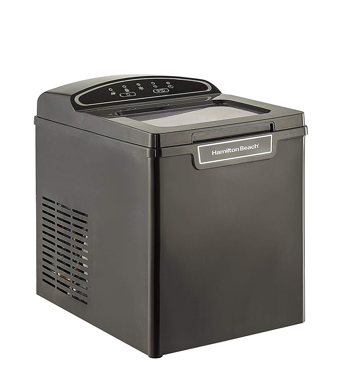 Hamillton Beach PIM-1-3A Portable Ice Maker, 26-Pound, Black