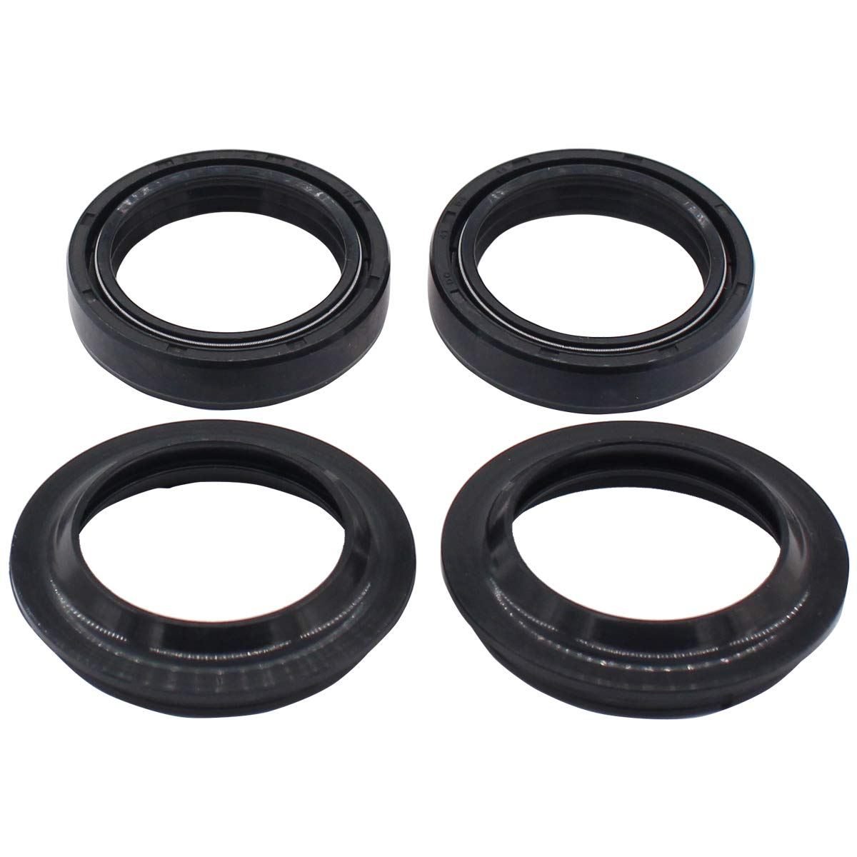 MOTOKU Set of Fork Oil Seal /& Dust Seal Wiper Kit for BMW F650GS Harley-Davidson Electra Glide Electra Heritage Softail Tour Honda CB500X