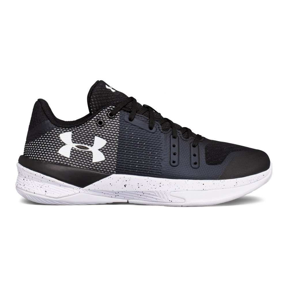 Under Armour Women's Block City, Black / Black / White, 11.5 B(M) US