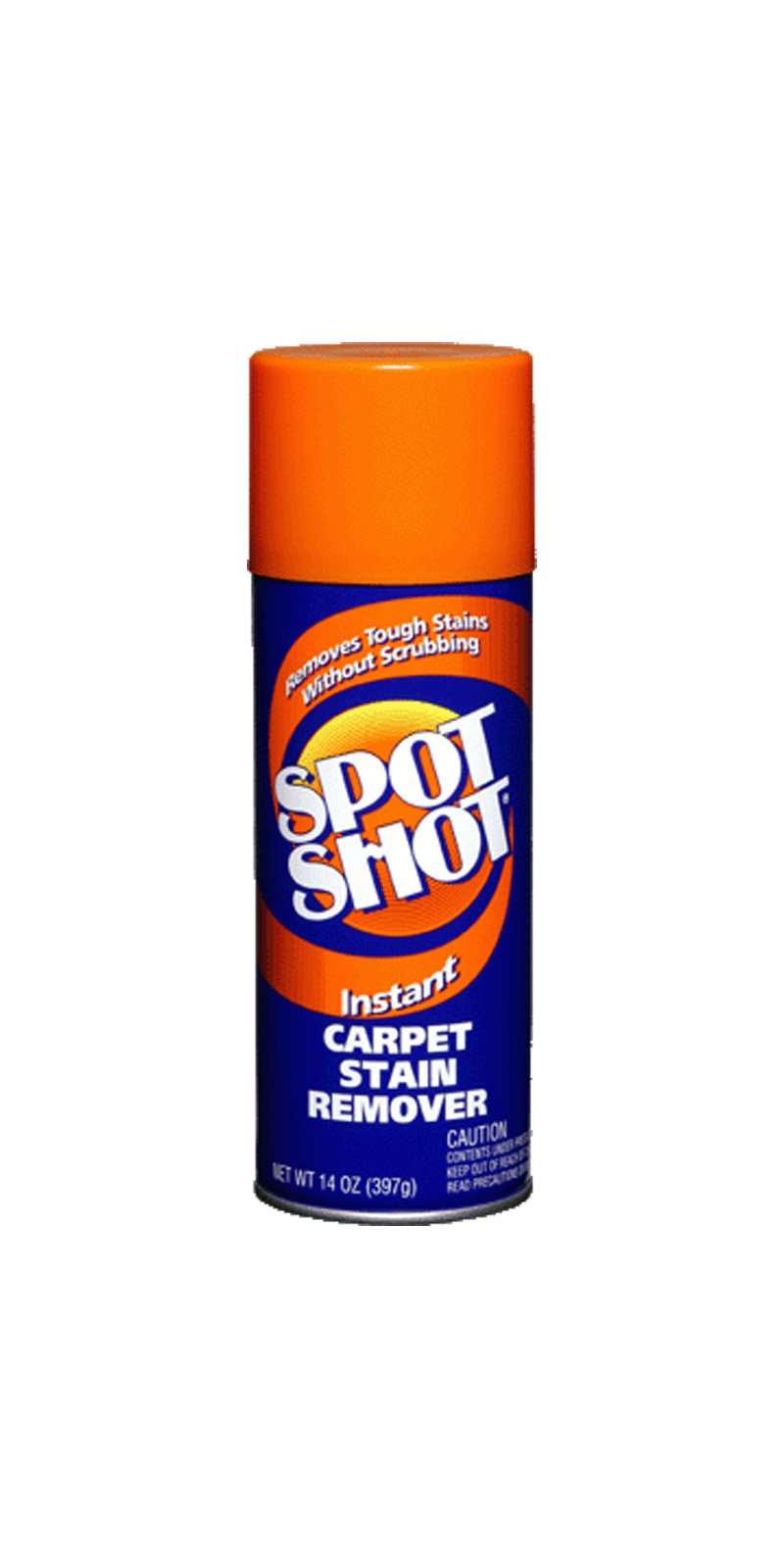 Spot Shot 009128 Aerosol Instant Carpet Stain Remover, 14 oz. (Pack of 12)