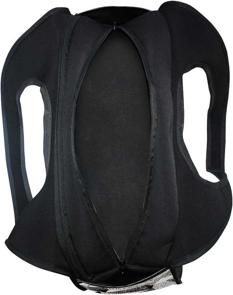 Gym Bag Black White Geometric Canvas Shoulder Sports Travel Bag for Men Women