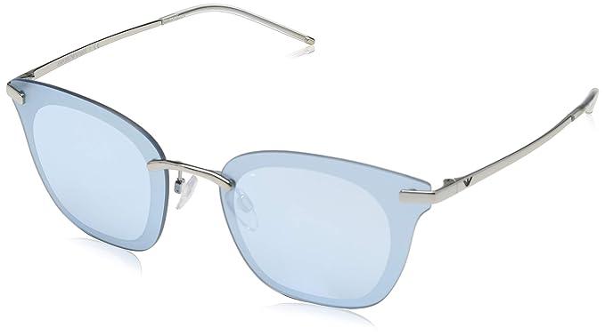 Emporio Armani 0EA2075 Gafas de sol, Silver, 60 para Mujer ...