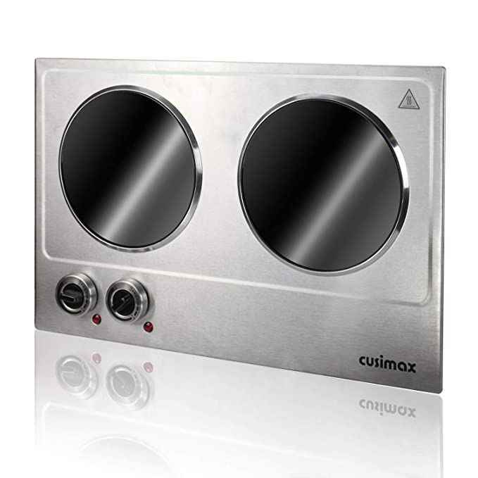 Amazon.com: Cusimax CMIP-C180 - Quemador doble de acero ...