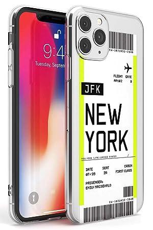 Boarding Pass Personalizada De Entradas: Nueva York Estuche ...