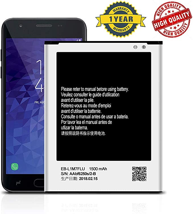 for Samsung Galaxy S3 Mini i8190 Replacement Battery EB-L1M7FLU