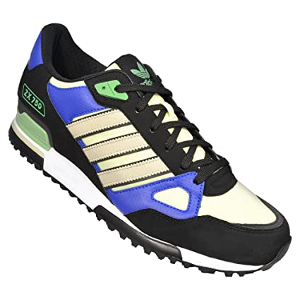 adidas ZX 750 Schuhe black-bliss-haze yellow - 44 2/3