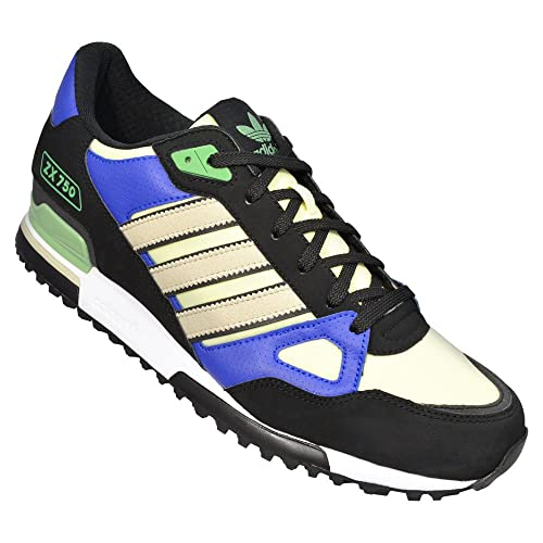 e29a9c9fa9d98 ... real adidas zx 750 black blue haze yellow q23662 9 dm 821da f4b33