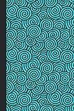 Journal: Swirls (Blue) 6x9 - GRAPH JOURNAL