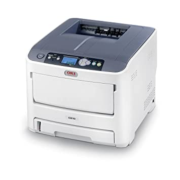 OKI C610N - Impresora láser, 36 ppm, A4