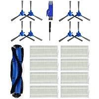 Saugroboter Zubeh/ör,Janly 8pcs N79 N79s Filter /& Side /& Main B/ürste f/ür Ecovacs DEEBOT Roboter Staubsauger