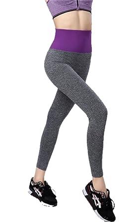 af2b707b5f410 Amazon.com: Ldamcom Women High Waist Inner Pocket Yoga Pants Active Workout  Running Sports Leggings: Clothing