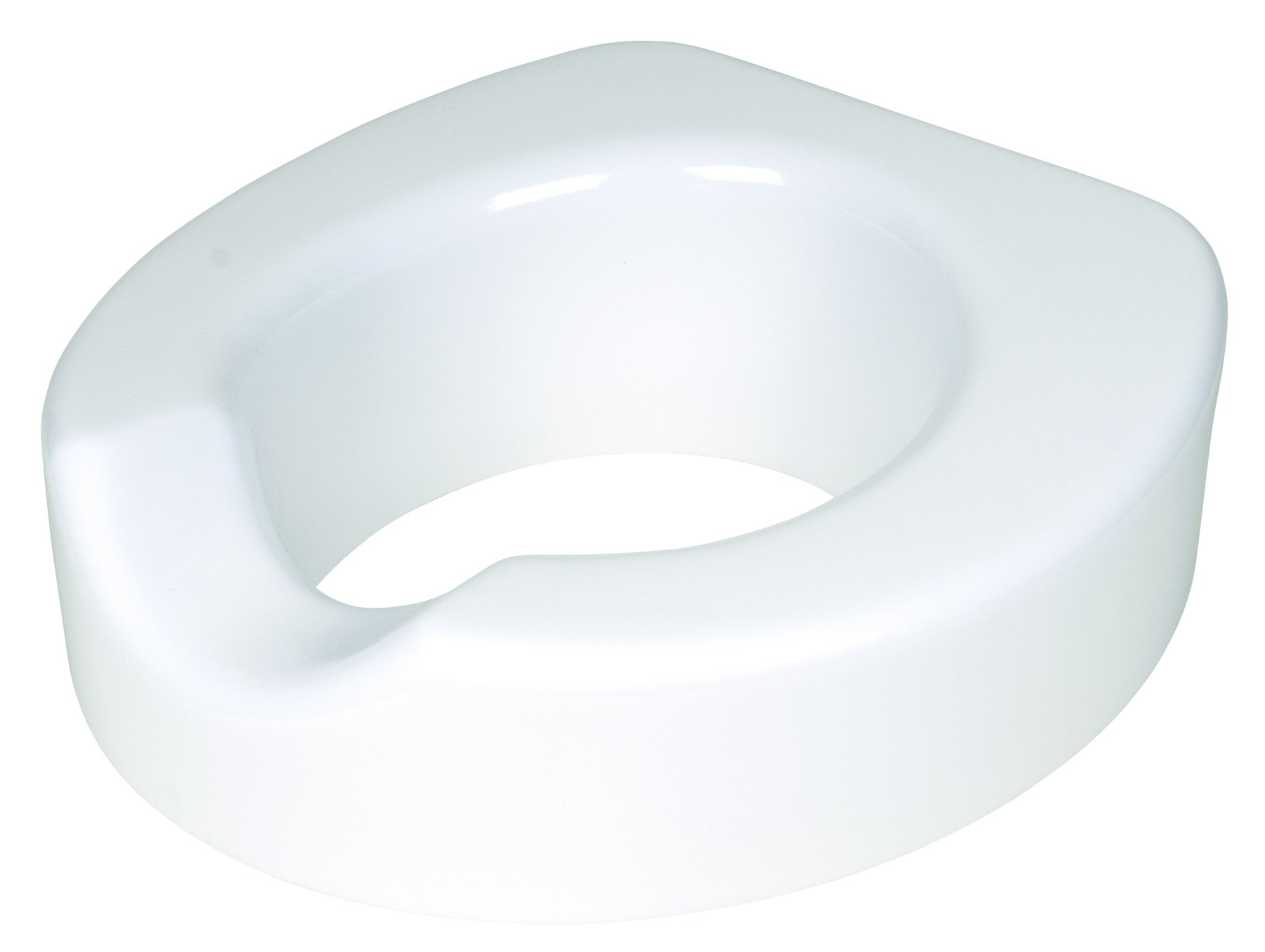 Carex Health Brands Fgb32000 4'' Quick-Lock Raised Toilet Seat