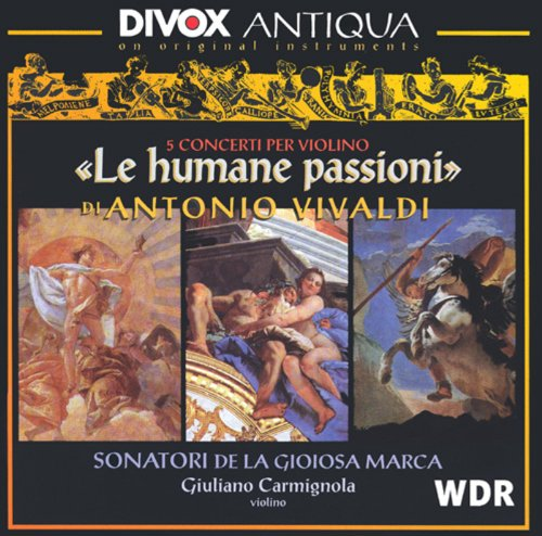 Vivaldi: Violin Concertos, Rv 180, 199, 234, 271 and 277 / Concerto for Strings in G Minor, Rv 153