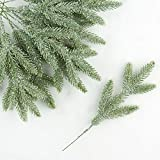 Factory Direct Craft Sparkling Holiday Artificial Pine Picks (12 stems)