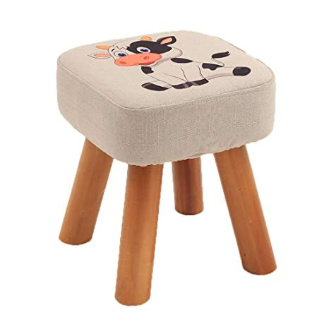 Marvelous Amazon Com Lxyfms Childrens Stool Home Low Stool Solid Inzonedesignstudio Interior Chair Design Inzonedesignstudiocom