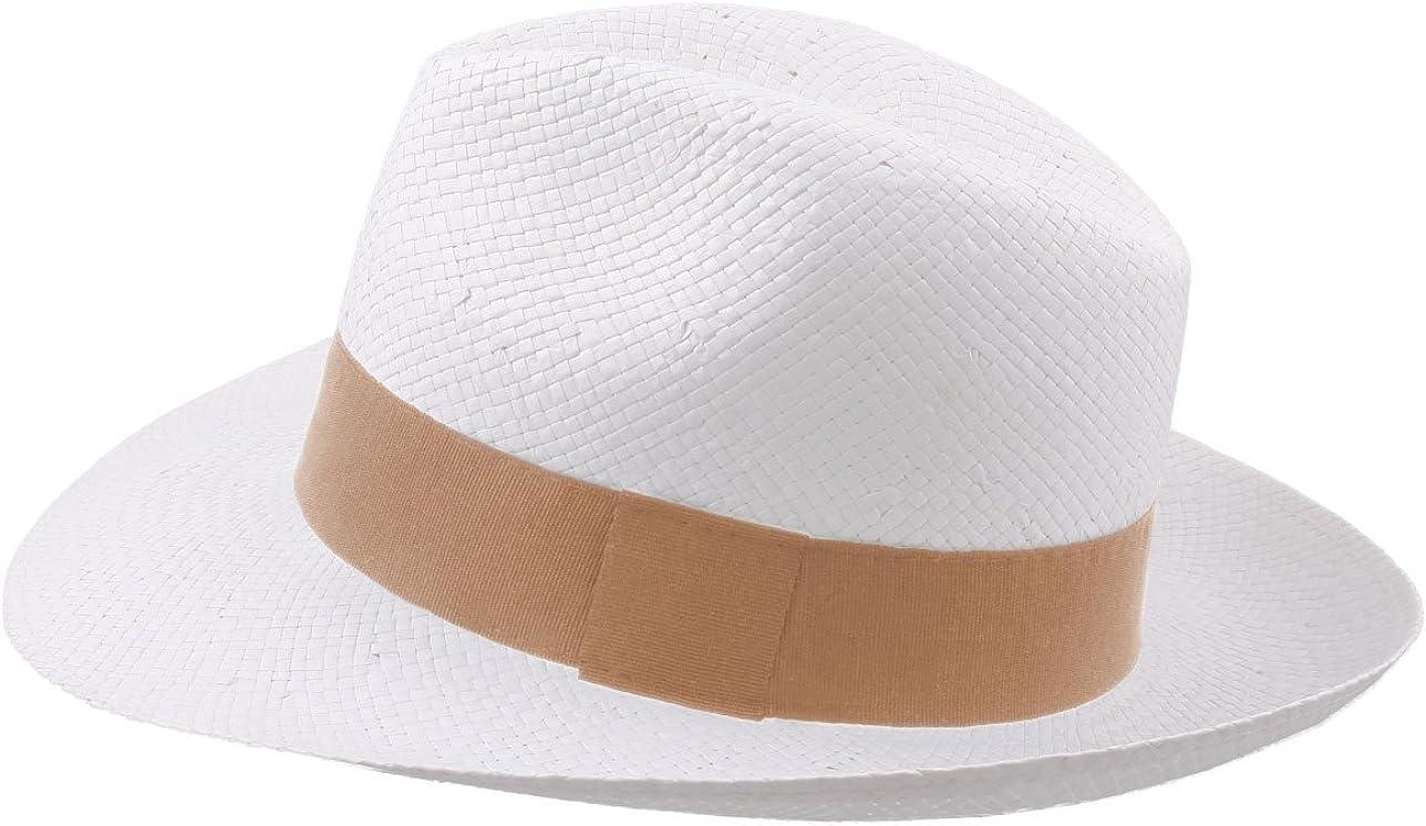 Classic Italy Banes Fedora Hat Size 56 cm 142-camel