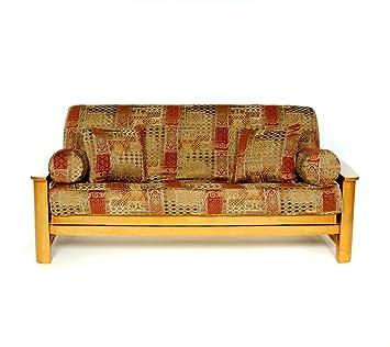 lifestyle covers renaissance full size futon cover amazon    lifestyle covers renaissance full size futon cover      rh   amazon