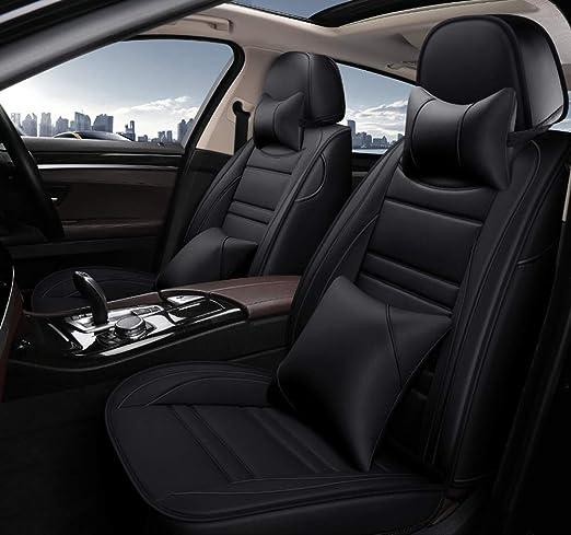 Car seat covers fit  Hyundai i40 black  leatherette full set