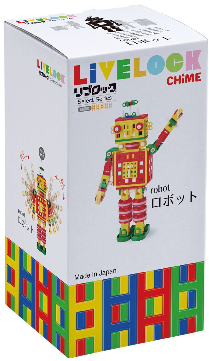 Li block select series robot (japan import) by Book loan by Book loan (Image #1)