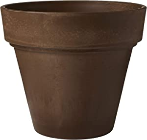 Arcadia Garden Products PSW OT55C Traditional Pot, 21.5 by 20-Inch, Chocolate