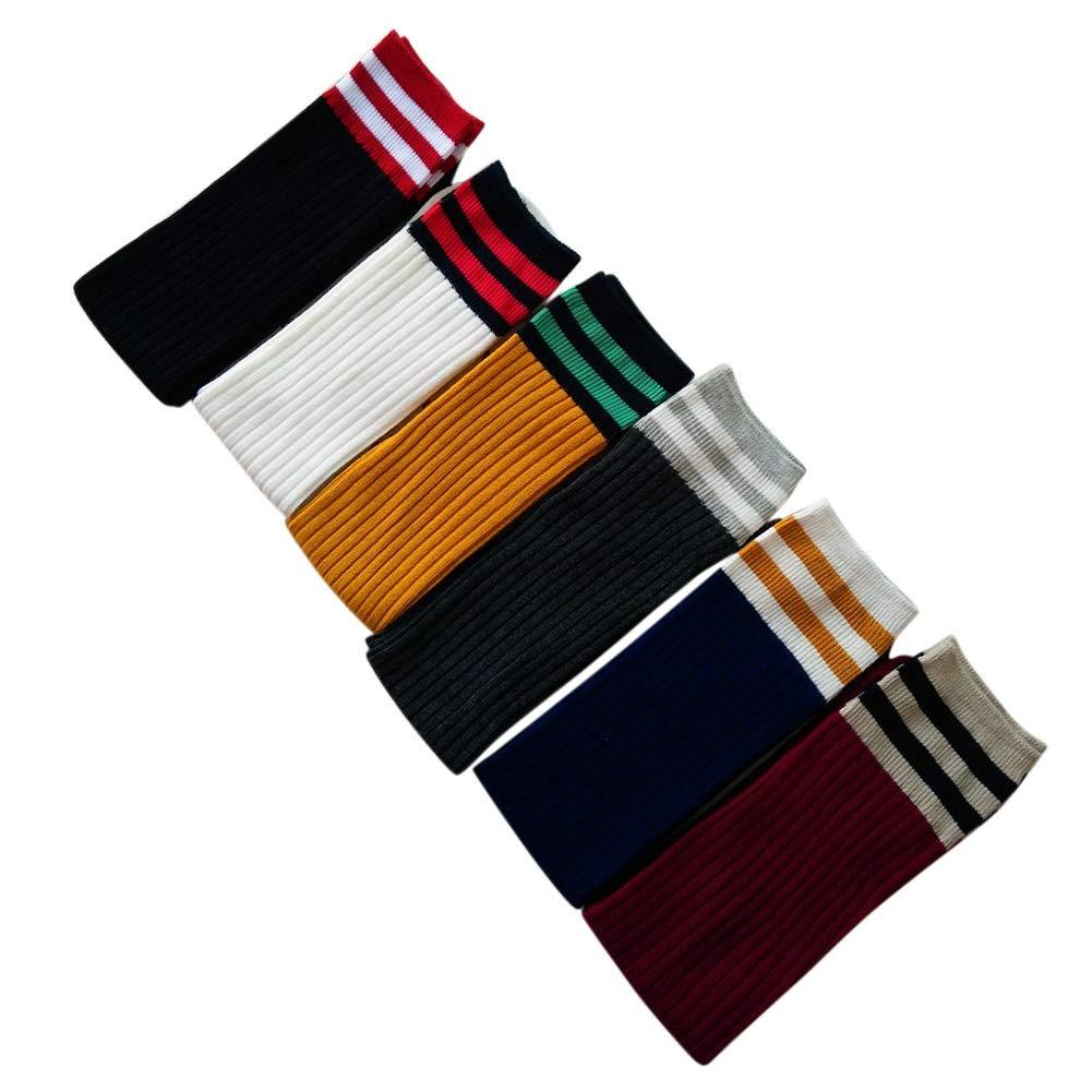 Unisex Stockings for Kids at 1-15 Years Old Aesy Boys Girls Knee High Socks Long School Football Socks Autumn Winter Socks
