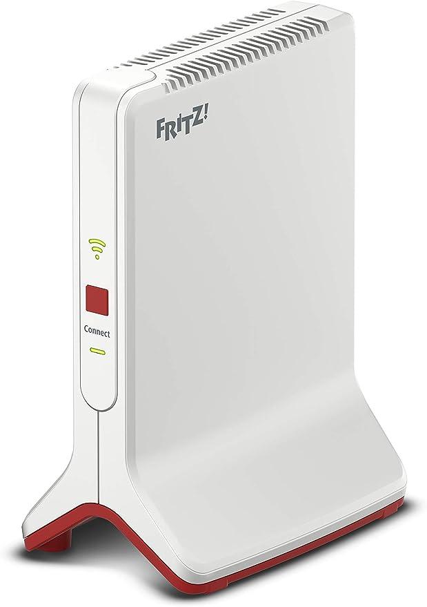 AVM FRITZ!WLAN Mesh Repeater 100 (drei Funkeinheiten: 100 GHz (bis zu 10.10  MBit/s), 100 GHz (bis zu 10 MBit/s), 10,10 GHz (bis zu 1000 MBit/s), 10x