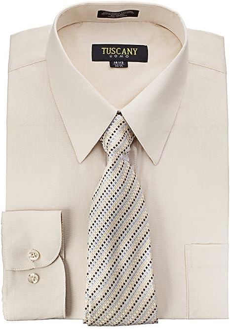 Camisa de vestir para hombre con corbata de misterio, color ...
