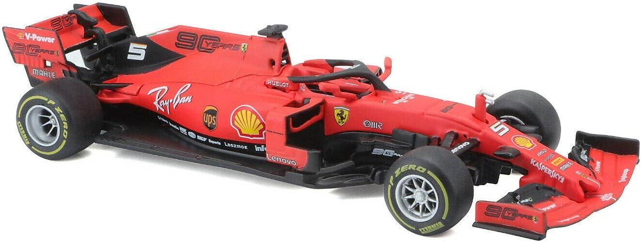 Bburago 1//43 Ferrari F1 2019 Australian GP SF90#5 Sebastian Vettel 36815SV