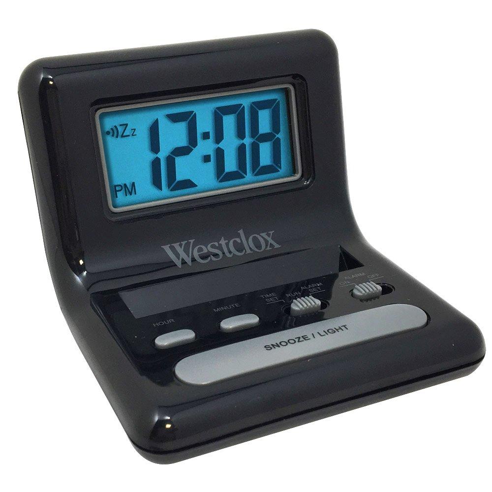 "Clock Travel Alarm 0.8"" by WESTCLOX MfrPartNo 47538A"