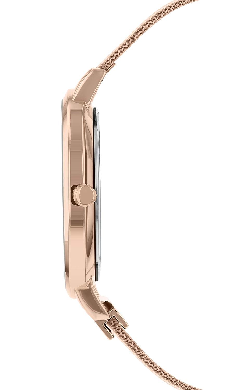 Sara Miller Chelsea Collection SA4000 - Reloj con Correa de Malla chapada en Oro Rosa: Amazon.es: Relojes