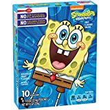 Betty Crocker SpongeBob Fruit Flavored Snacks Assorted Flavors 10-0.8 oz Pouches