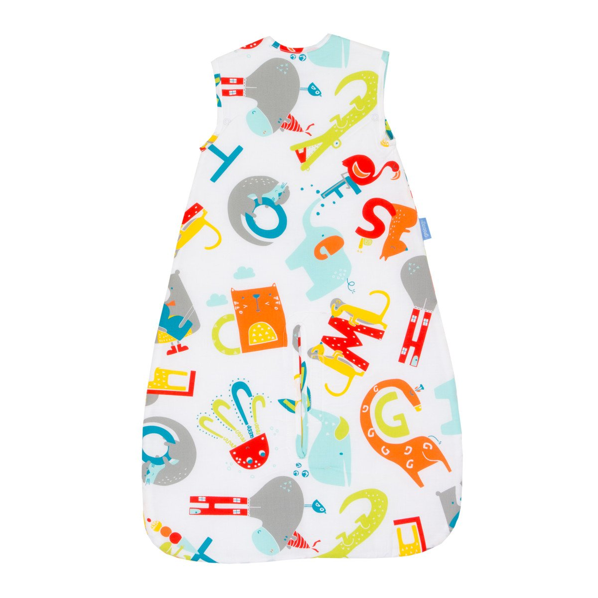 Grobag Travel Baby Sleeping Bag - E is for Elephant 2.5 Tog (18-36 Months) by grobag (Image #4)