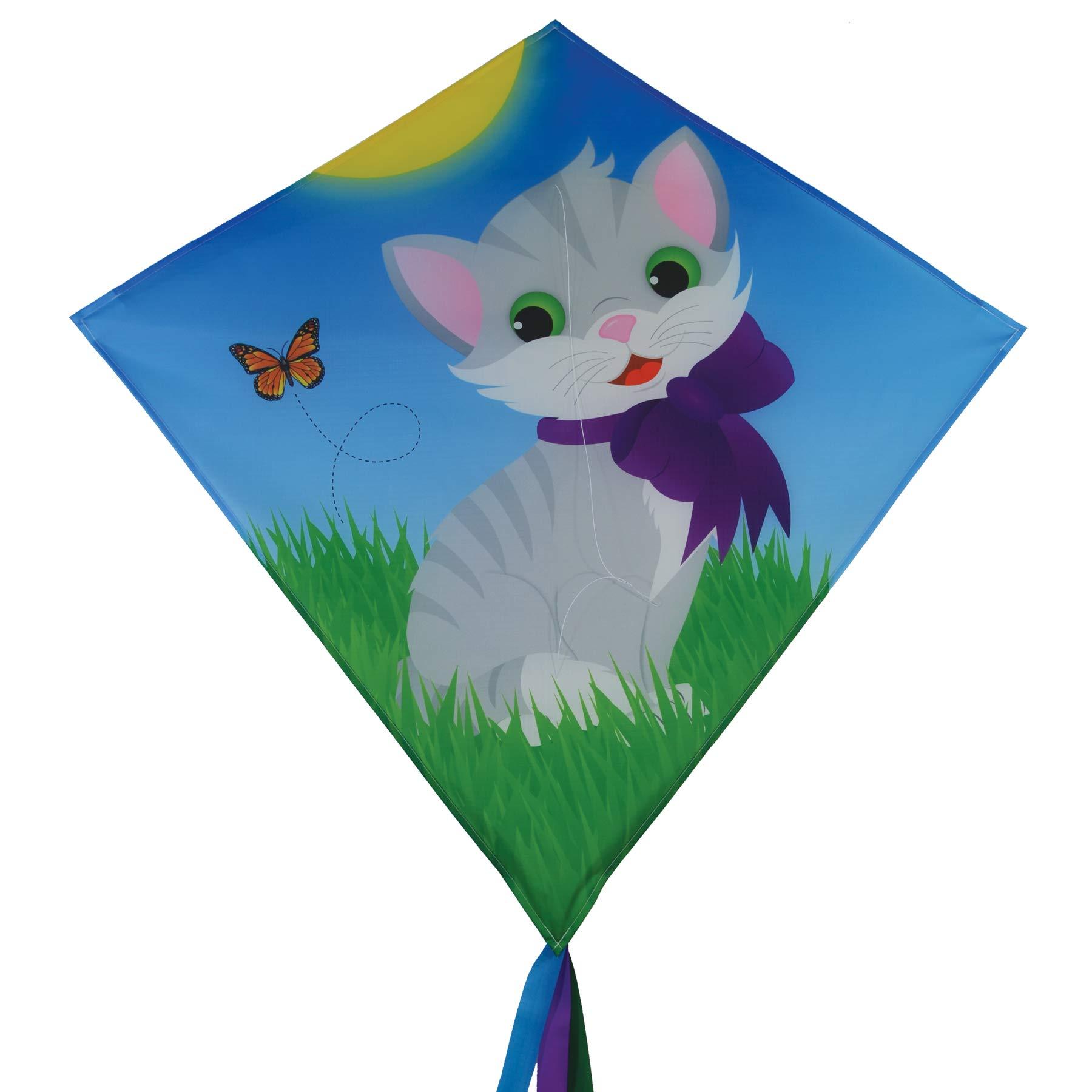 In the Breeze 3278 - Kitten 30'' Diamond Kite - Fun, Easy Flying Kite by In the Breeze