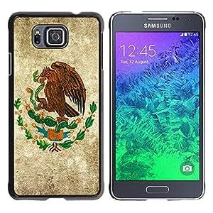Jordan Colourful Shop - Eagle Painting Serpent God America For Samsung ALPHA G850 Custom black plastic Case Cover