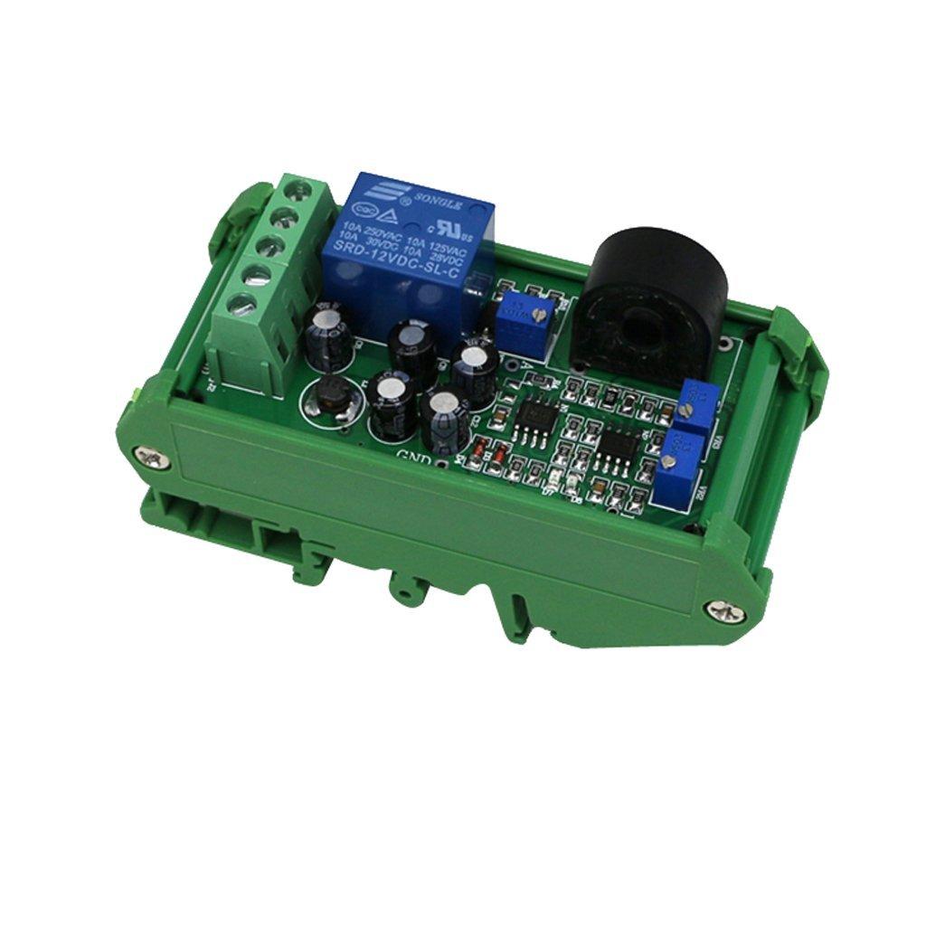 Homyl AC Current Sensor Detection Module 0-10A Range Adjustable Liner Switch Output Over-Current Protection