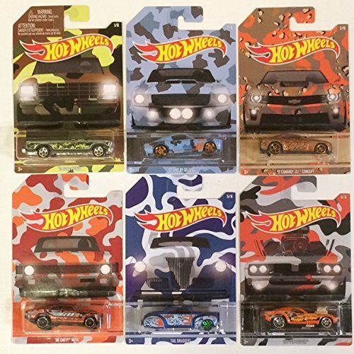 hot-wheels-exclusive-camouflage-set-of-6-die-cast-cars