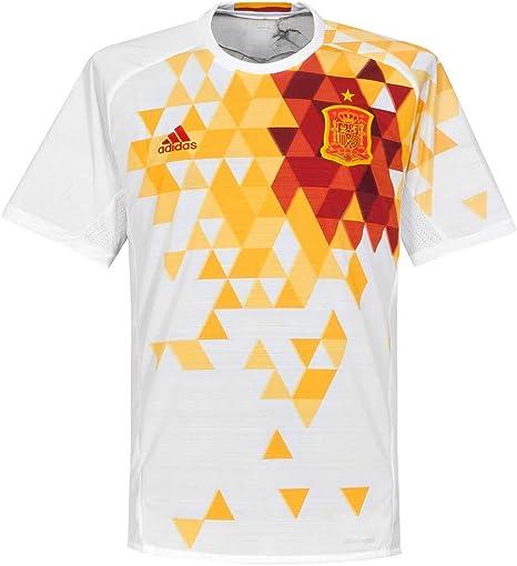 adidas 2ª Equipación Federación Española de Fútbol - Camiseta Oficial: Amazon.es: Ropa y accesorios