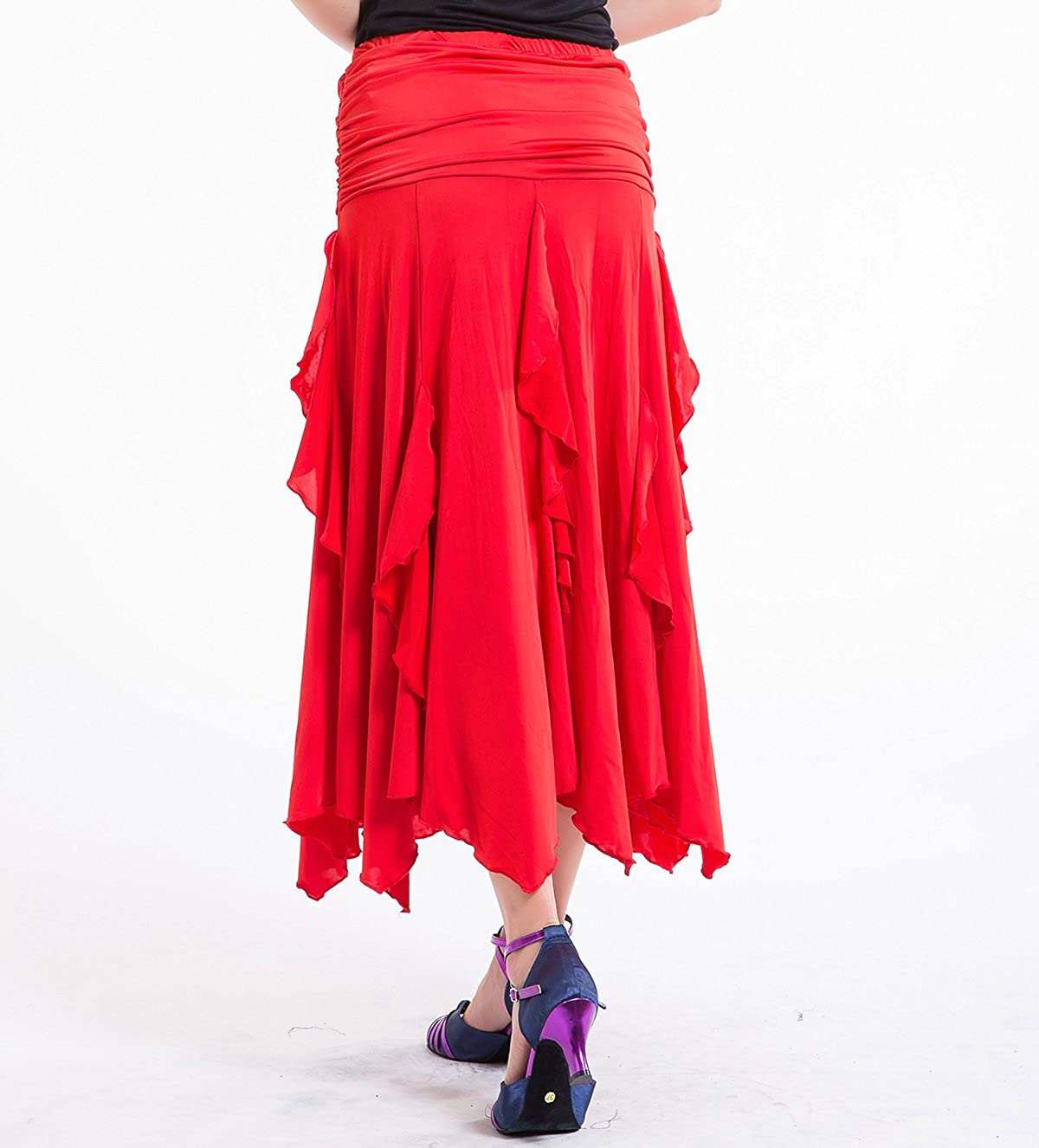 Amazon.com: whitewed Foxtrot Latina Flamenco American Smooth ...