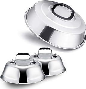Leonyo Professional Melting Dome Lid Set of 3, 12