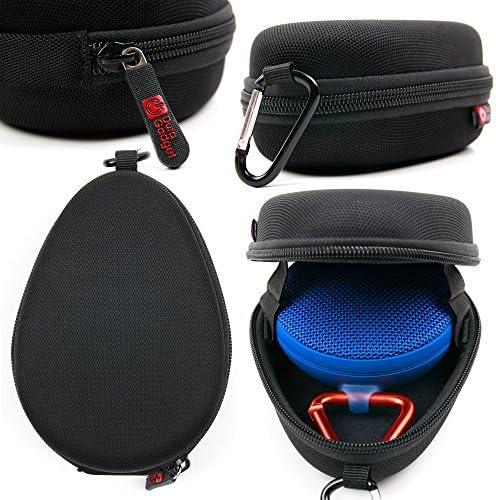 DURAGADGET Black Custom-Designed Durable EVA Carry Case