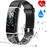 OMNiX™ ID130 Plus HR Smart Bracelet with Heart Rate Monitor, IP67 Waterproof, Step Counter Pedometer