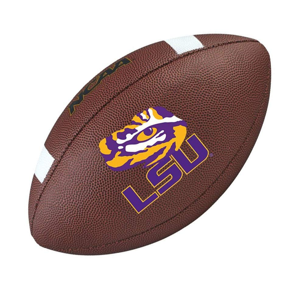 Wilson LSU Tigers NCAA officielle Senior Composite Football américain