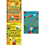 Boy who grew dragons andy shepherd 3 books collection set