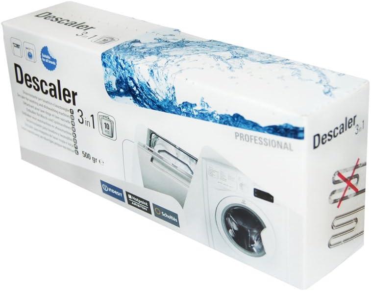 Descalcificador y desengrasante 3 en 1 para lavadora Indesit ...